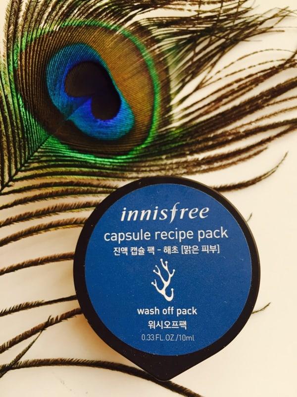 Innisfree Capsule Recipe Pack Sea Weed