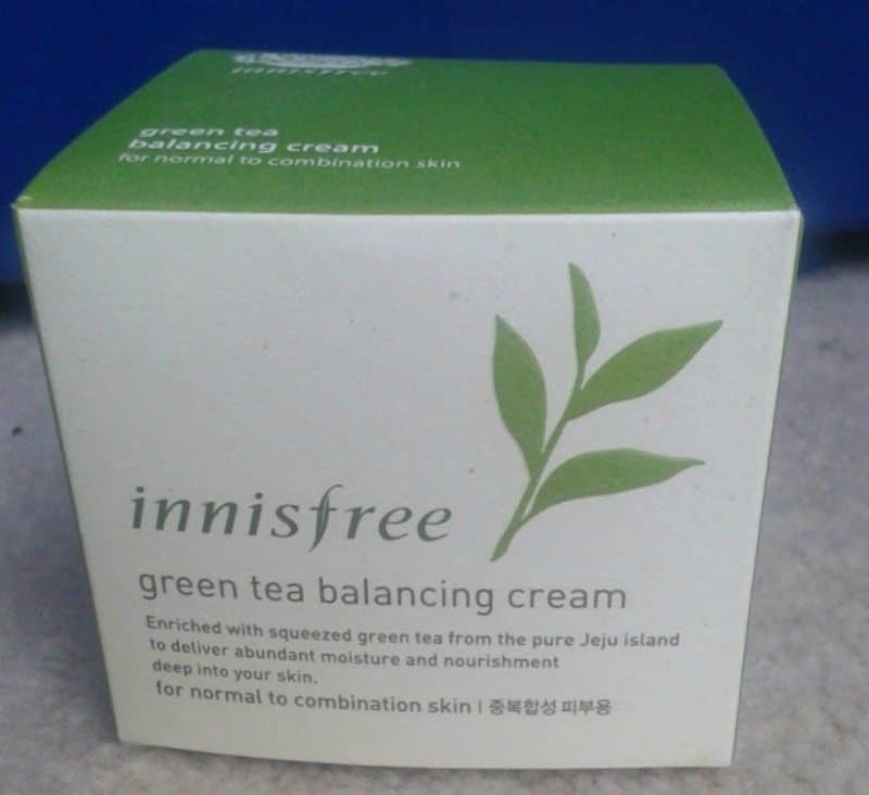 Innisfree Green Tea Balancing Cream 3