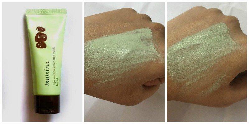 Innisfree Jeju Volcanic Color Clay Mask Cica