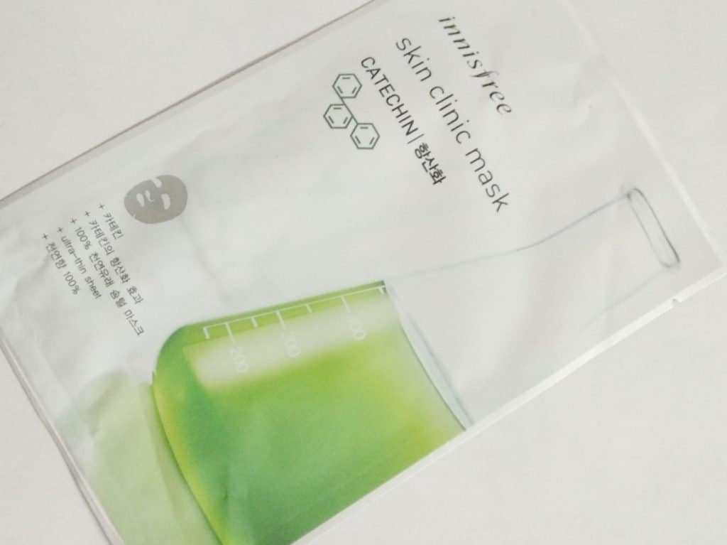 Innisfree Skin Clinic Mask Catechin