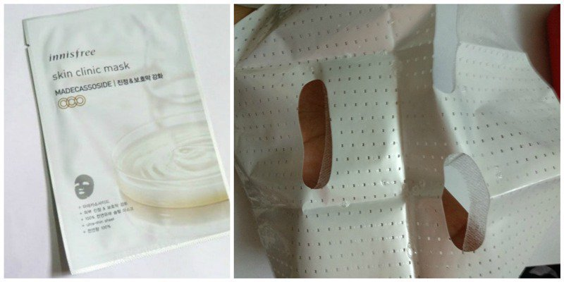 Innisfree Skin Clinic Mask Madecassoside