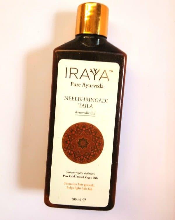 Iraya Cold Pressed Neelbhringadi Ayurvedic Taila Review