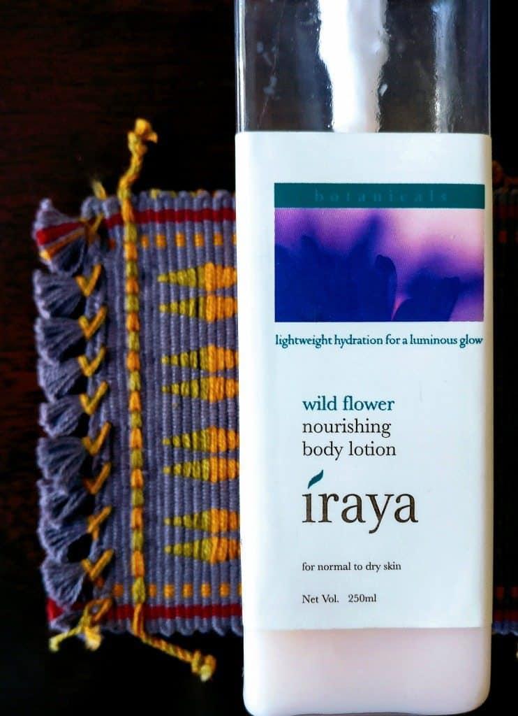 Iraya Wildflower Body Lotion Review