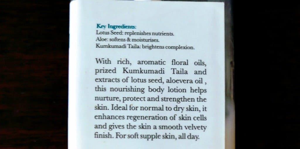 Iraya Wildflower Body Lotion Review 3
