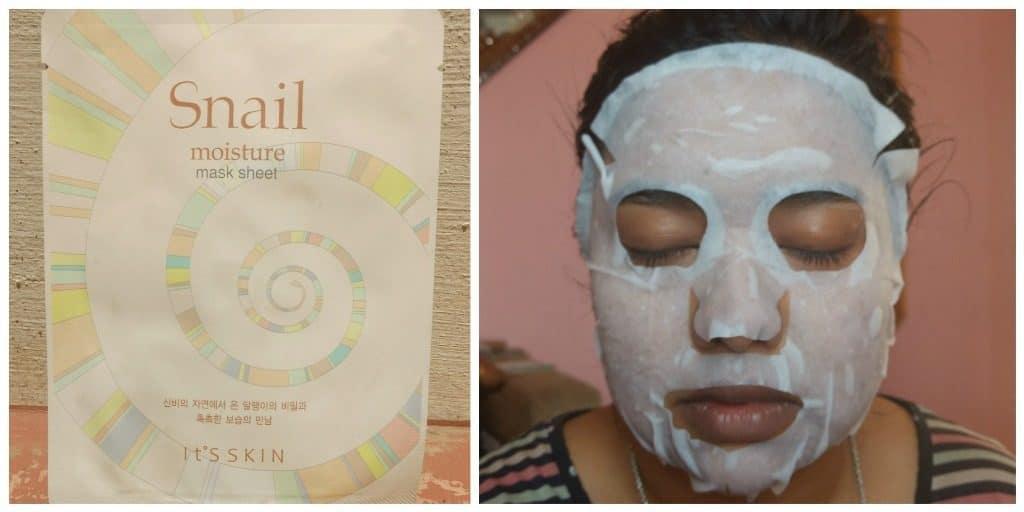 Its Skin Snail Moisture Sheet Mask