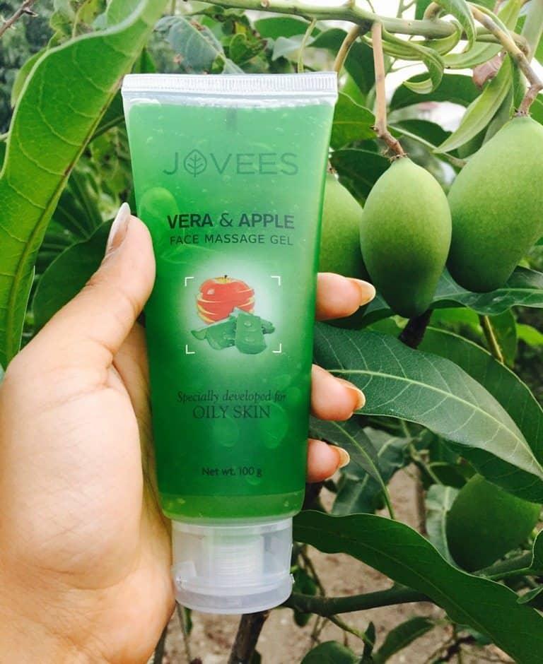 Jovees Apple & Vera Massage Gel Review 2