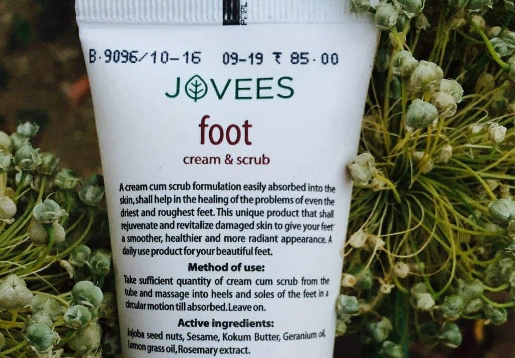Jovees Foot Cream And Scrub 2