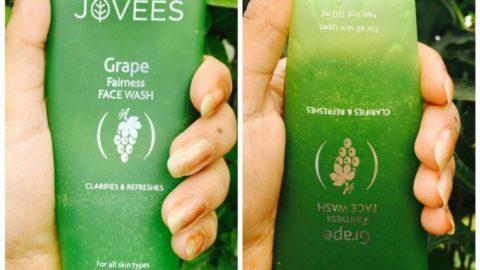 Jovees Grape Fairness Facewash Review 5