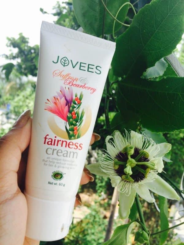 Jovees Saffron Bearberry Fairness Cream Review