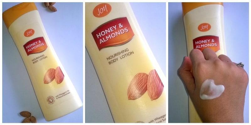 Joy Honey & Almonds Nourishing Body Lotion