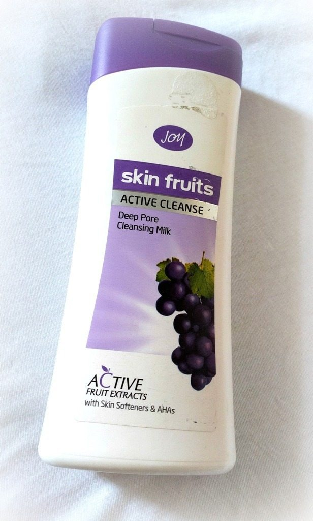 Joy Skin Fruits Active Deep Pore Cleansing Milk Review