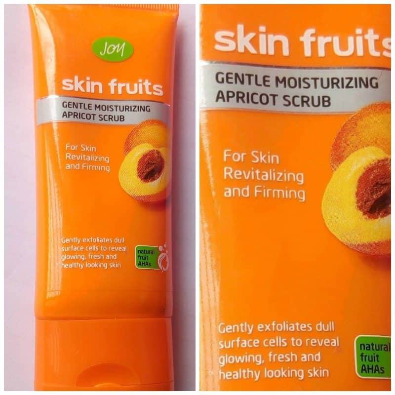 Joy Skin Fruits Gentle Moisturising Apricot Scrub 3