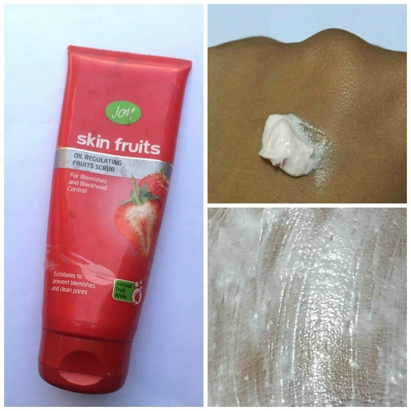 Joy Skin Fruits Oil Regulating Fruits Scrub