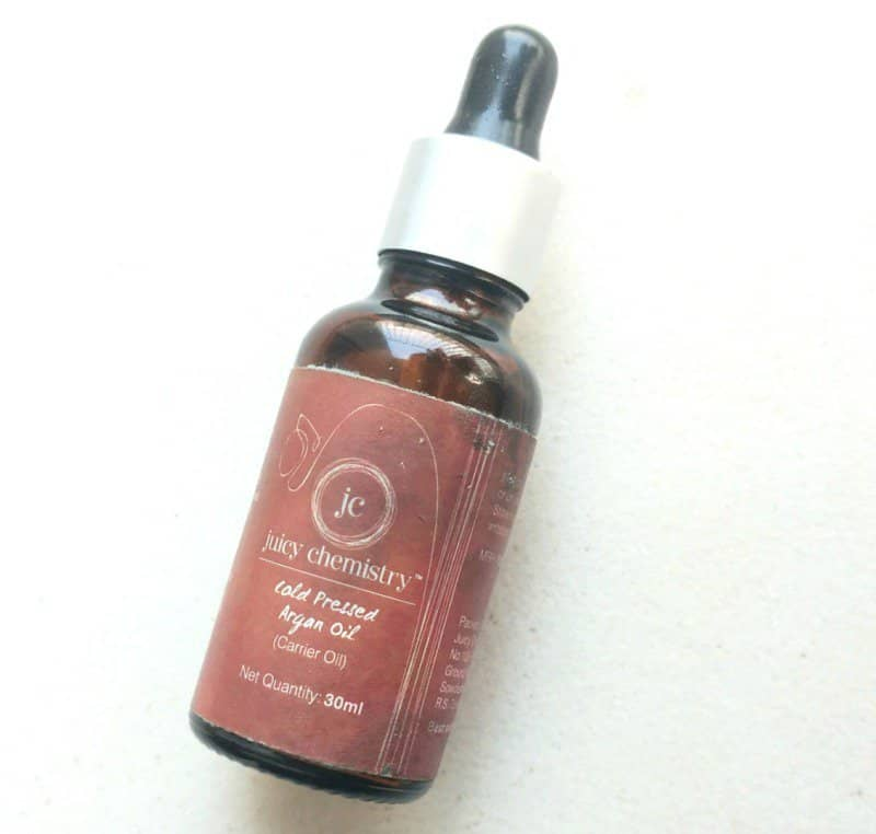 Juicy Chemistry Argan Oil