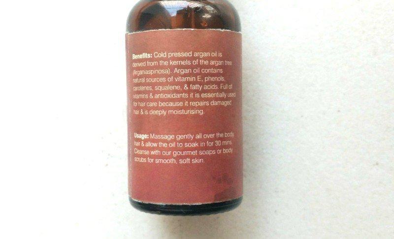 Juicy Chemistry Argan Oil 1