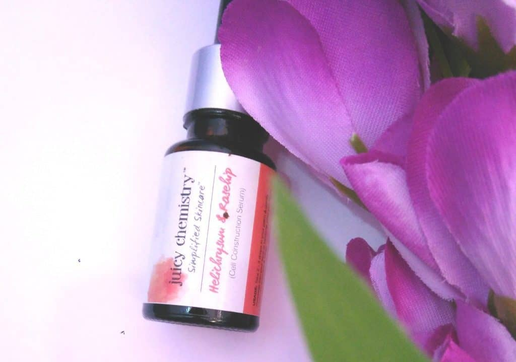 Juicy Chemistry Cell Construction Serum Helichrysum and Rosehip