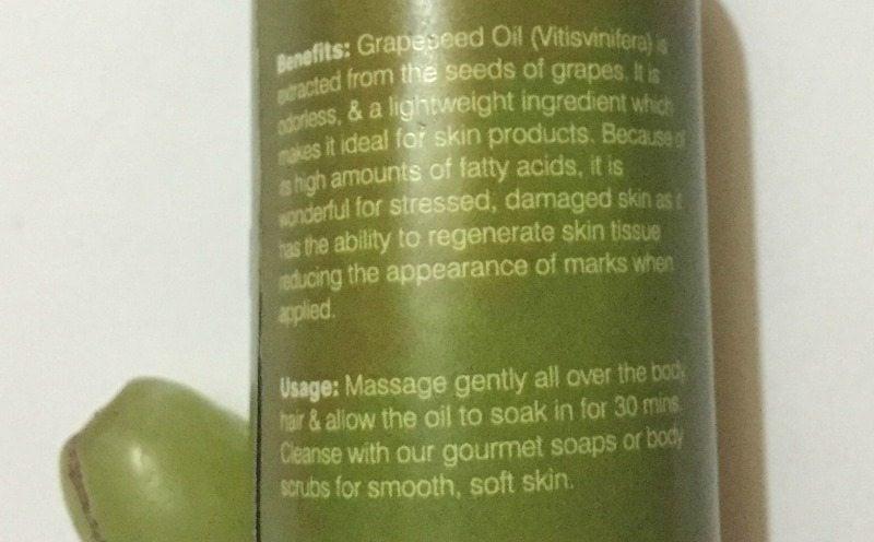 Juicy Chemistry Grapeseed Oil 1