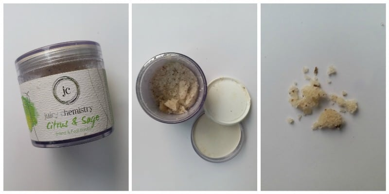 Juicy Chemistry Hand and Foot Scrub