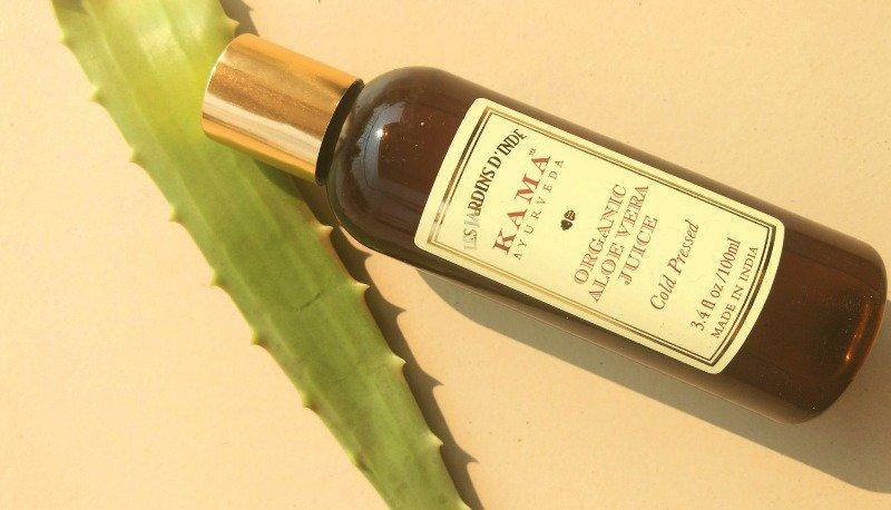 Kama Ayurveda 100% Organic Aloe Vera Cold Pressed Juice