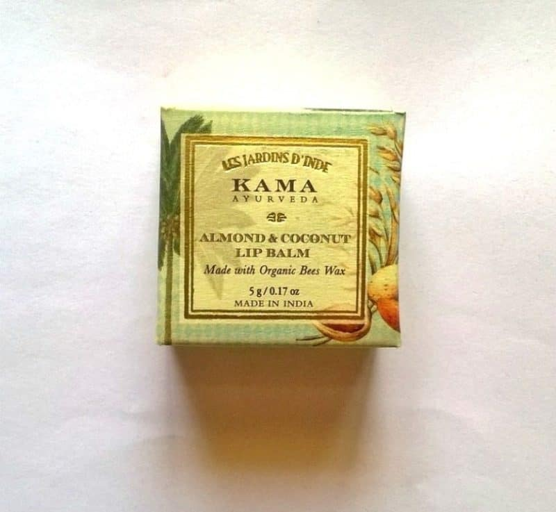 Kama Ayurveda Almond And Coconut Lip Balm Review