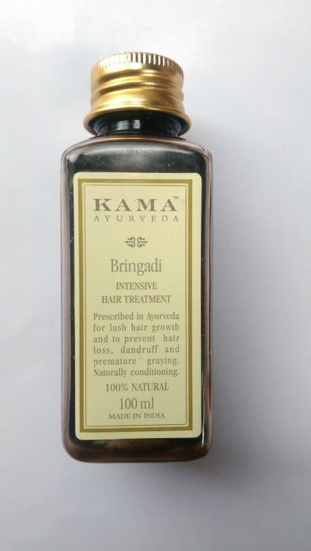 Kama Ayurveda Bringadi Intensive Treatment Hair Oil Review 1