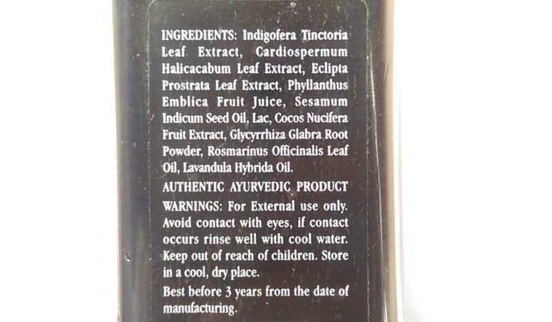 Kama Ayurveda Bringadi Intensive Treatment Hair Oil Review 3