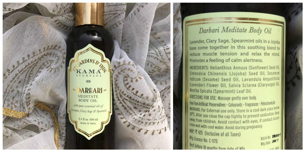 Kama Ayurveda Darbari Meditative Body Oil