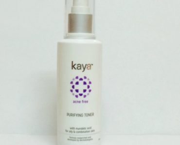 Kaya Acne Free Purifying Toner Review