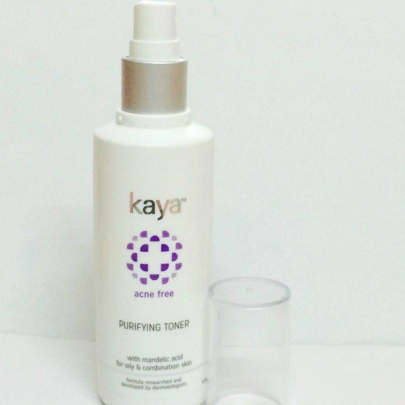 Kaya Acne Free Purifying Toner Review 1