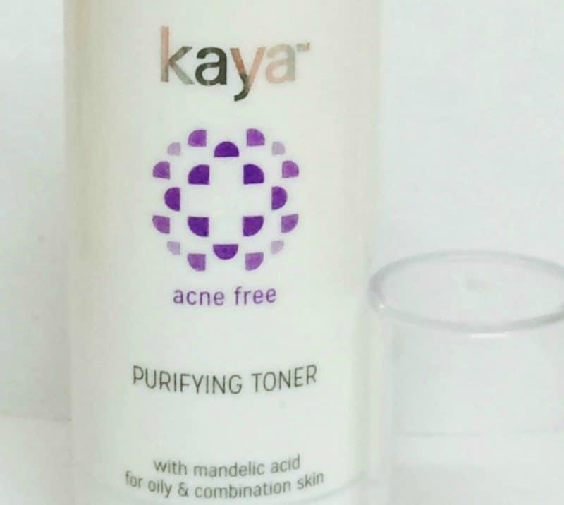 Kaya Acne Free Purifying Toner Review 2