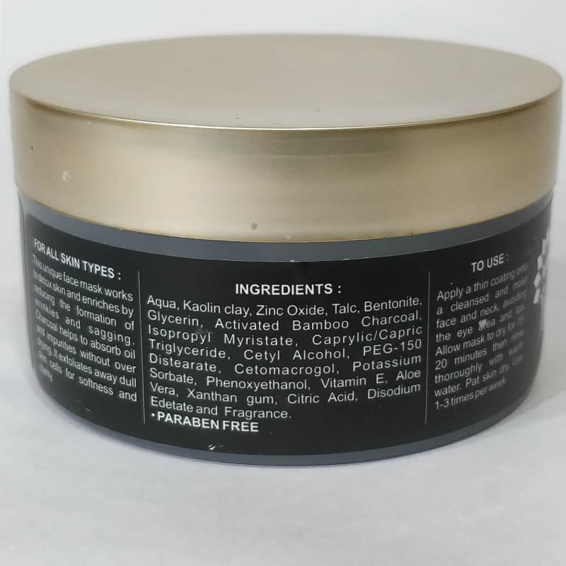 Khadi Activated Bamboo Charcoal Mask 1