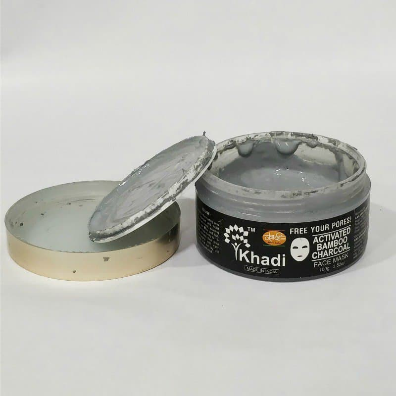 Khadi Activated Bamboo Charcoal Mask 2