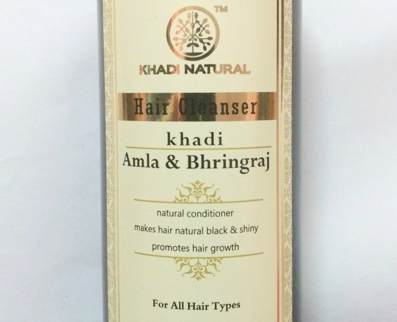 Khadi Amla And Bhringraj Hair Cleanser 1