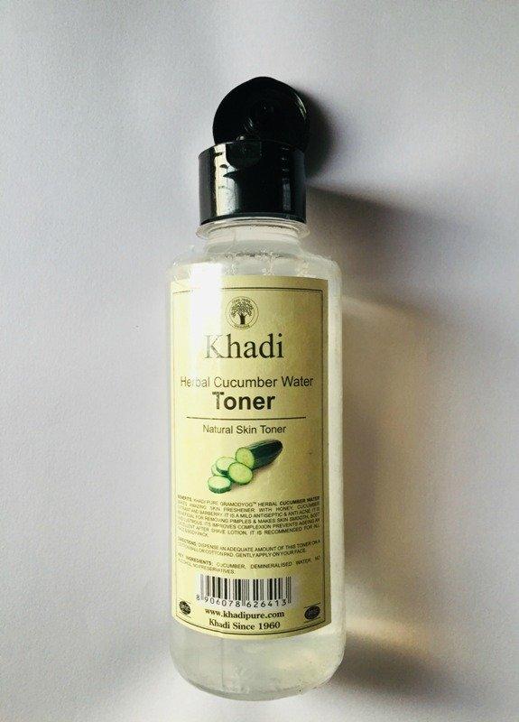 Khadi Cucumber Water Toner