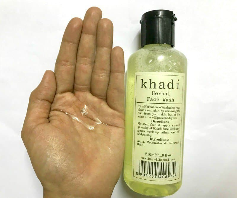 Khadi Herbal Face wash 1