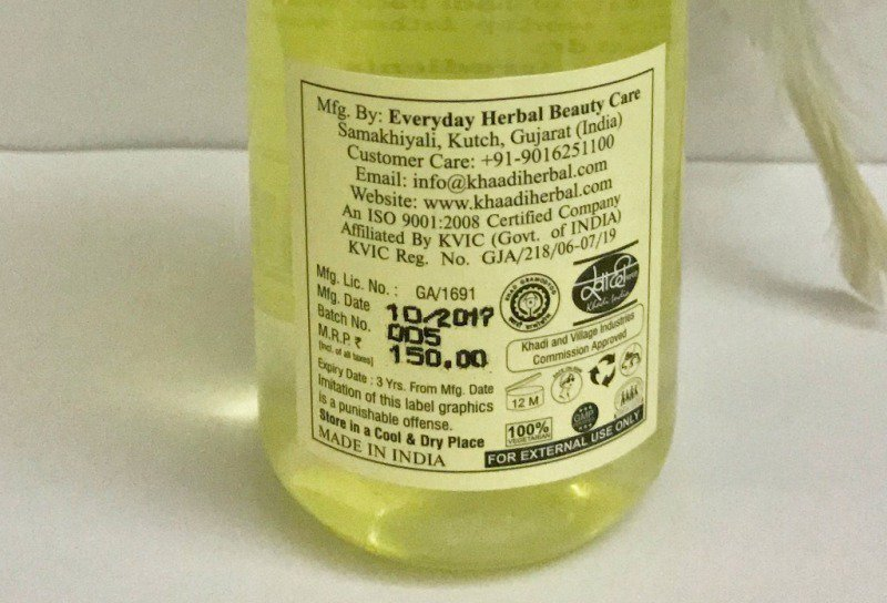 Khadi Herbal Face wash 2