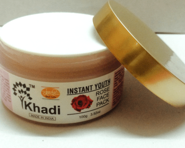 Khadi Instant Youth Rose Face Pack 3