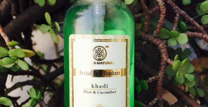 Khadi Mint and Cucumber Face Freshner 3
