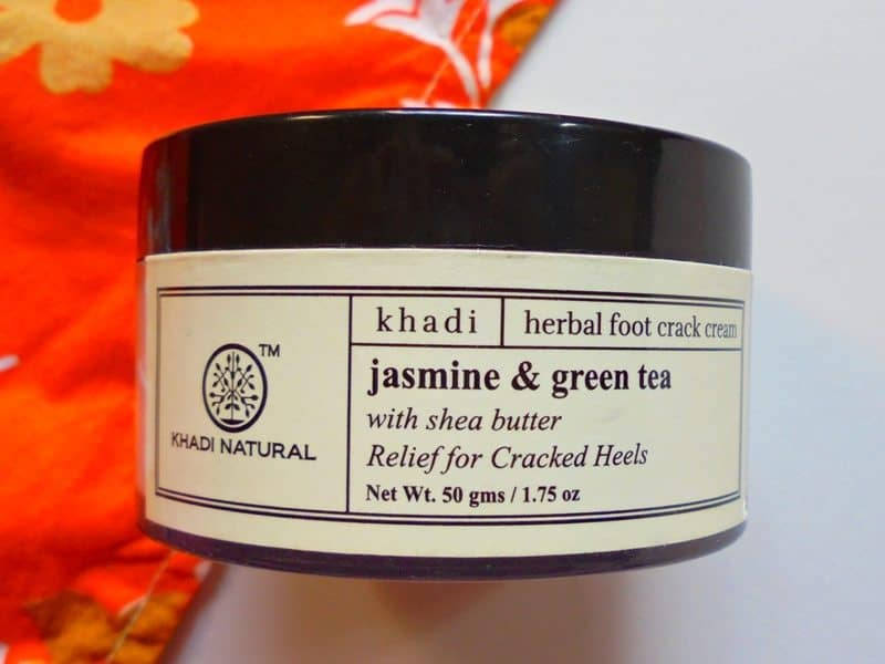 Khadi Natural Jasmine & Green Tea Herbal Foot Crack Cream Review