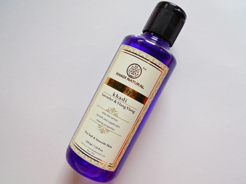 Khadi Natural Lavender & Ylang Ylang Herbal Body Wash Review