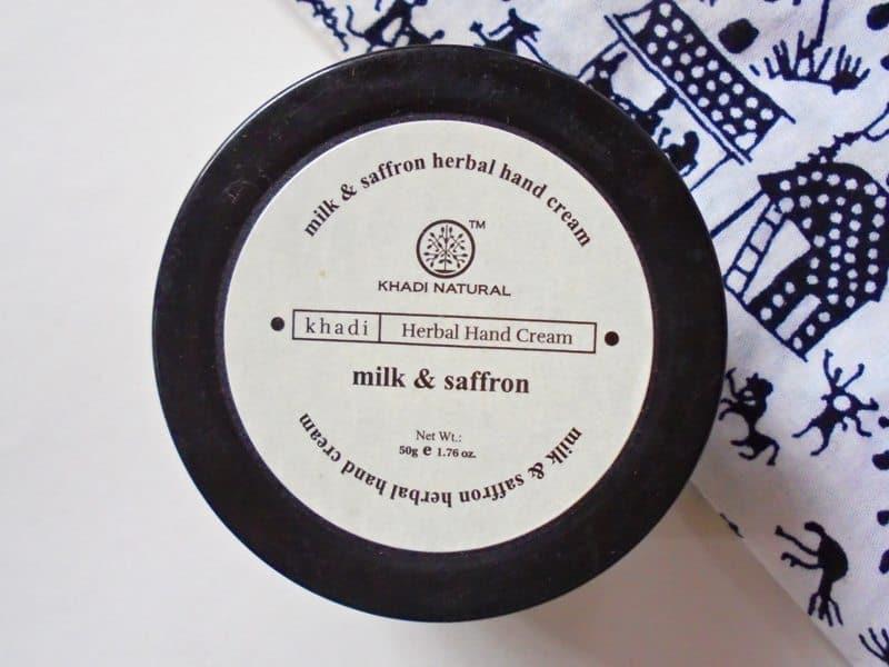 Khadi Natural Milk & Saffron Herbal Hand Cream Review 1
