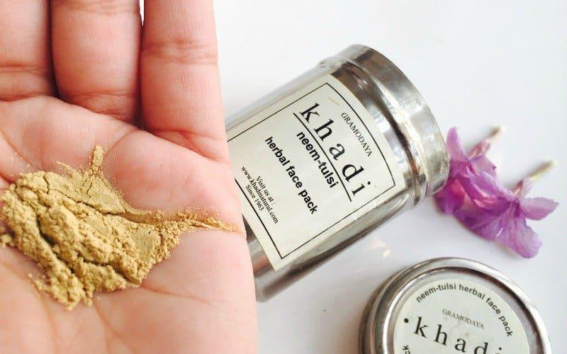 Khadi Natural Neem Tulsi Herbal Face Pack 3