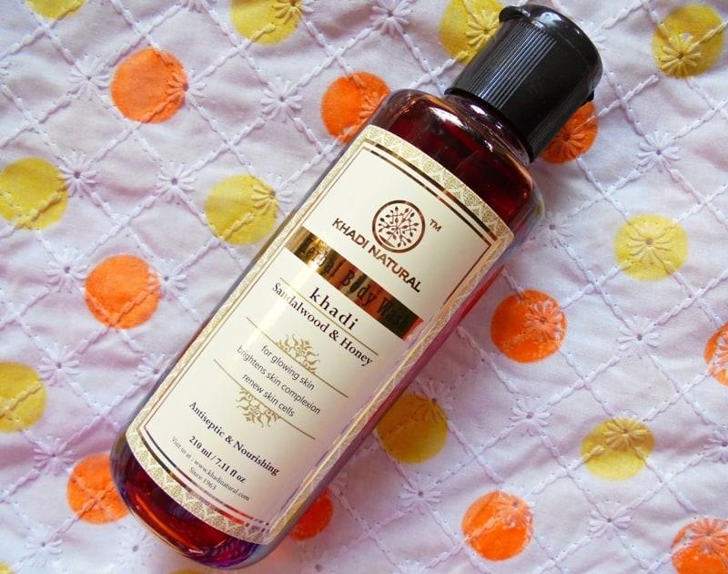 Khadi Natural Sandalwood & Honey Body Wash Review