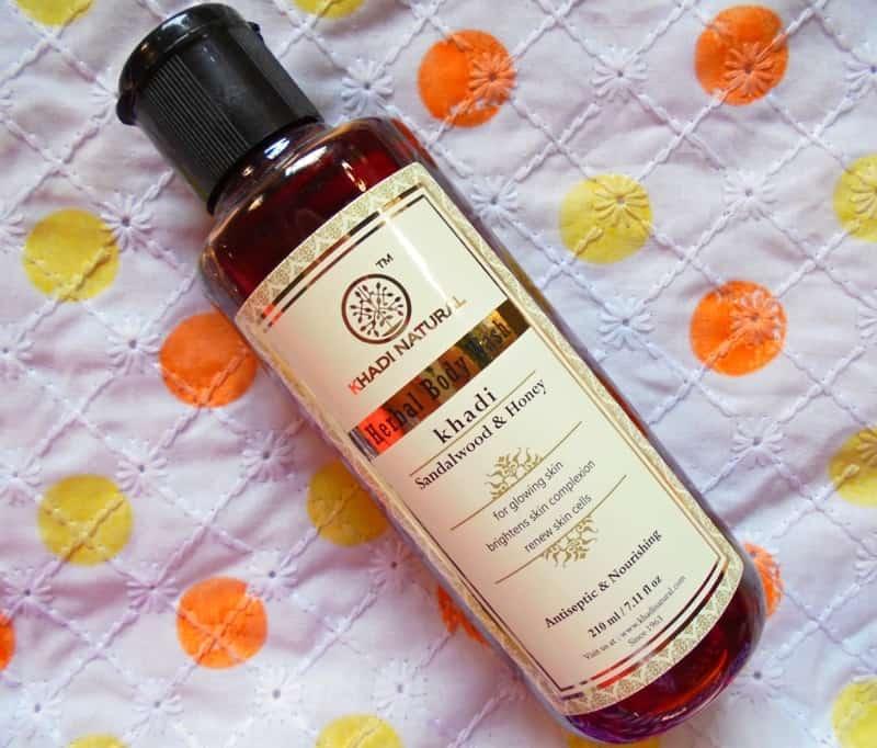 Khadi Natural Sandalwood & Honey Body Wash Review 4