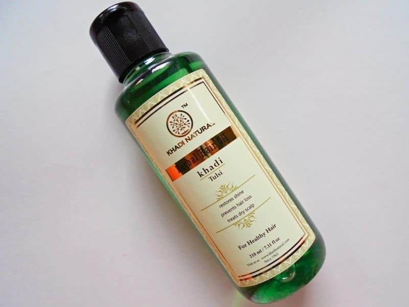 Khadi Natural Tulsi Herbal Hair Oil