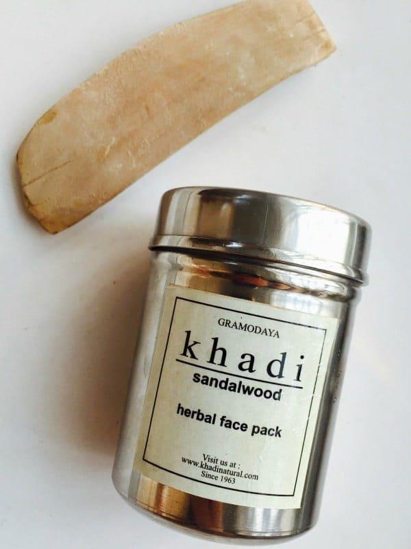 Khadi Sandalwood Herbal Face Pack 3