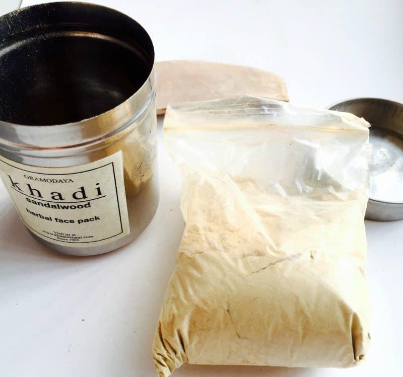 Khadi Sandalwood Herbal Face Pack 1