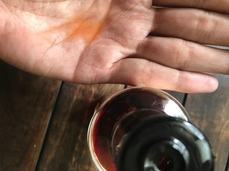 Khadi Sandalwood Massage Oil- Without Mineral Oil 4