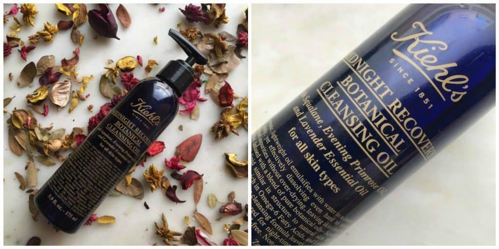 Kiehl's Midnight Recovery Botanical Cleansing Oil Review 4
