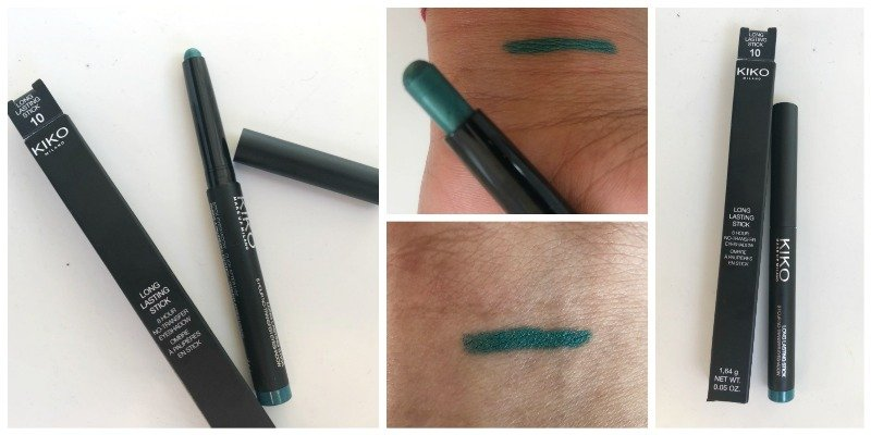 Kiko Long Lasting Stick Eyeshadow Emerald Green 10